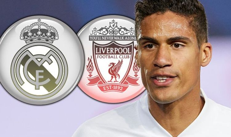 Real Madrid star Raphael Varane tests positive for coronavirus ahead of Liverpool clash