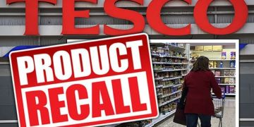 Tesco shares urgent food recall warning due to serious health fears - full list