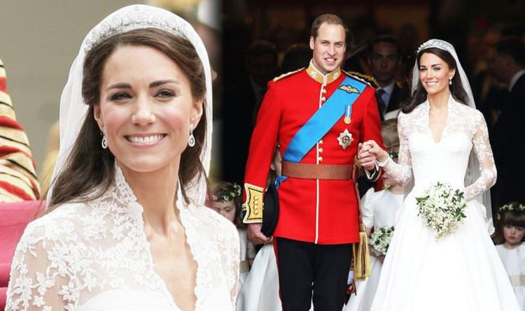 Kate Middleton wore 'incredibly sentimental' £40m jewellery set at wedding to William