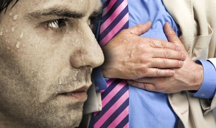 Heart attack: Sweating could indicate your risk of the deadly condition
