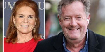Piers Morgan details text from Sarah Ferguson urging him to 'get back out there' after GMB