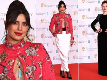 BAFTA red carpet: From bizarre trousers to extreme shoulder pads - tonight's worst dressed