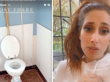 Stacey Solomon apologises for revealing too much in Instagram video of bathroom makeover