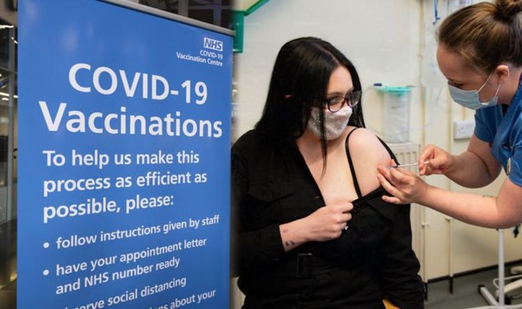 Vaccine roll-out: Under-50s to start getting jabs THIS WEEK – When will you get vaccine?