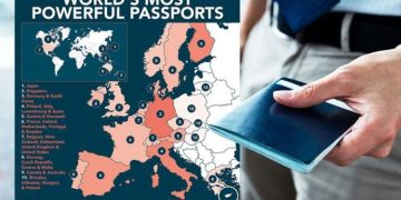 Most powerful passports in the world mapped - how strong is the British passport?