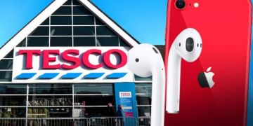 Tesco is substituting some items with FREE iPhones and shoppers can't believe their luck