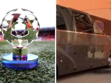Liverpool release strong statement after Real Madrid bus window is smashed by fans