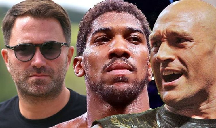 Anthony Joshua and Tyson Fury agree on fight site as blockbuster mega-fight edges closer