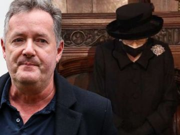Piers Morgan's tearful reaction to Queen 'Has there been a more heart-breaking picture?'