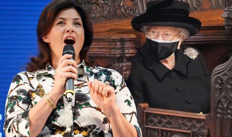 Kirstie Allsopp hits out at government after Queen 'mourned' alone at husband's funeral
