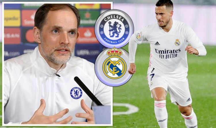 Thomas Tuchel says Chelsea players are talking about Eden Hazard ahead of Real Madrid tie