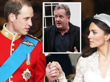 Piers Morgan speaks out on Prince William and Kate Middleton 'fleeing' on wedding day