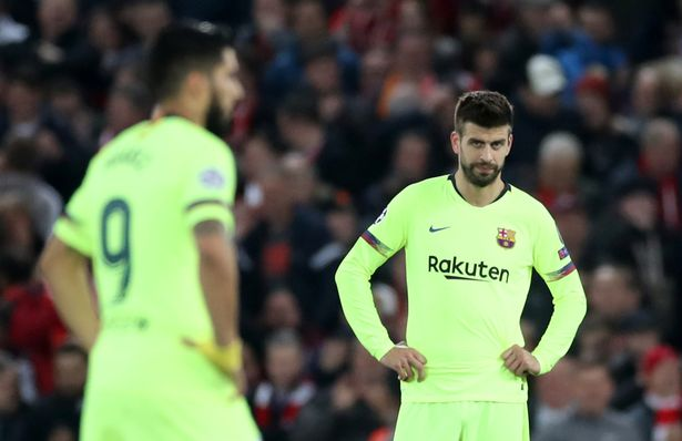 Pique lifts lid on furious Barca dressing room reaction to Anfield capitulation