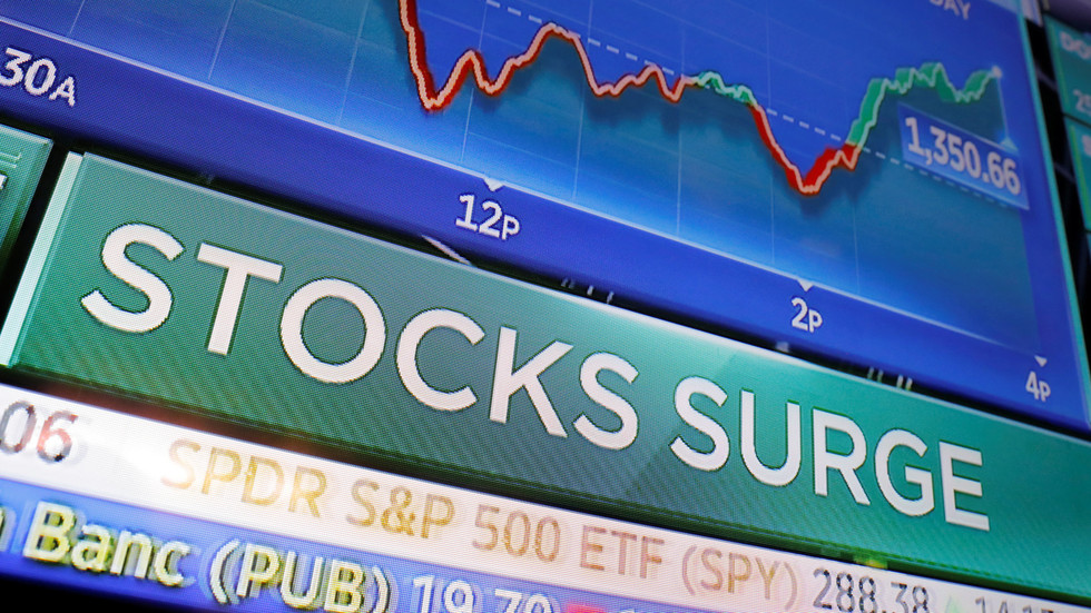 Global stocks shoot past all-time high of $106 TRILLION as imminent end of Covid-19 pandemic heats up market sentiment