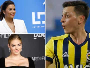 Star investors: Football ace Mesut Ozil joins actress Eva Longoria and model Kate Upton in stake bid for Mexican Liga club Necaxa
