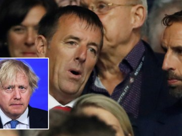 Ex-England footballer Le Tissier blasted after sharing video of UK prime minister Boris Johnson discussing vaccines and lockdown