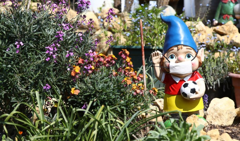 The great British garden-gnome famine: Elf is on the way after Suez Canal snarl-up & Covid deprive UK of beloved ornaments