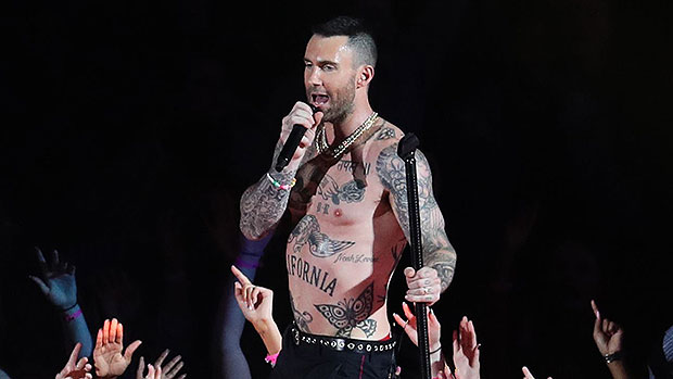 Adam Levine Shows Off His Chiseled Abs During Sexy Shirtless Workout — Watch