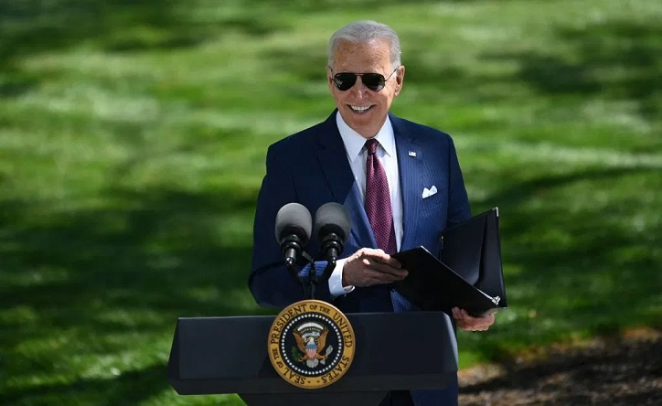 Biden delivers remarks after CDC says fully vaccinated Americans don't need to wear a mask outside