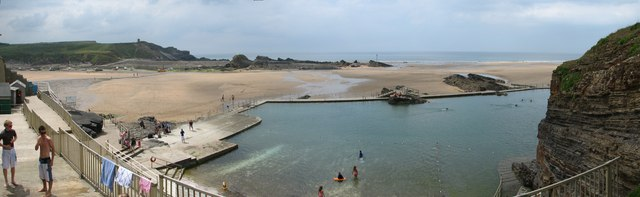 Bude Pool - Roy Parkhouse