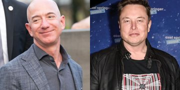 Elon Musk Trolls Jeff Bezos & Says He 'Can't Get It Up' Amid Battle Over Space Contract