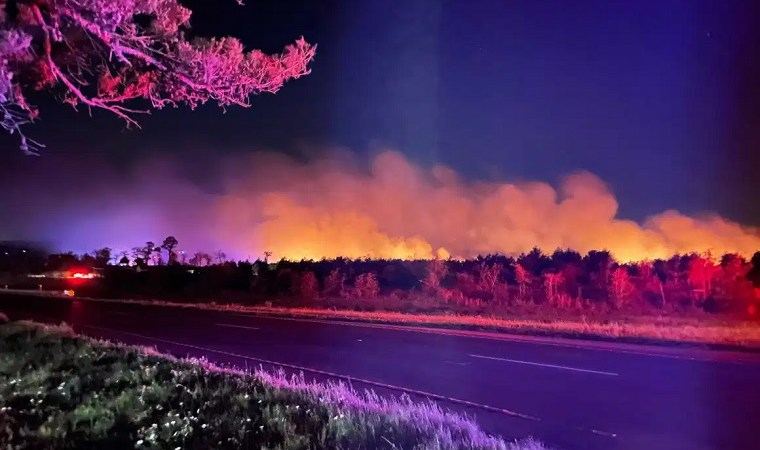Evacuations lifted for 100-acre Bastrop County wildfire, fire is 50% contained