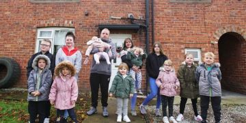 The chaos and fun of Britain's biggest families juggling 31 kids