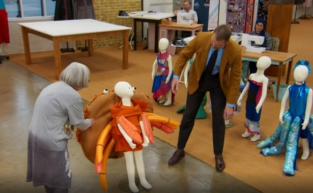Great British Sewing Bee's Andrew wows judges with crab costume