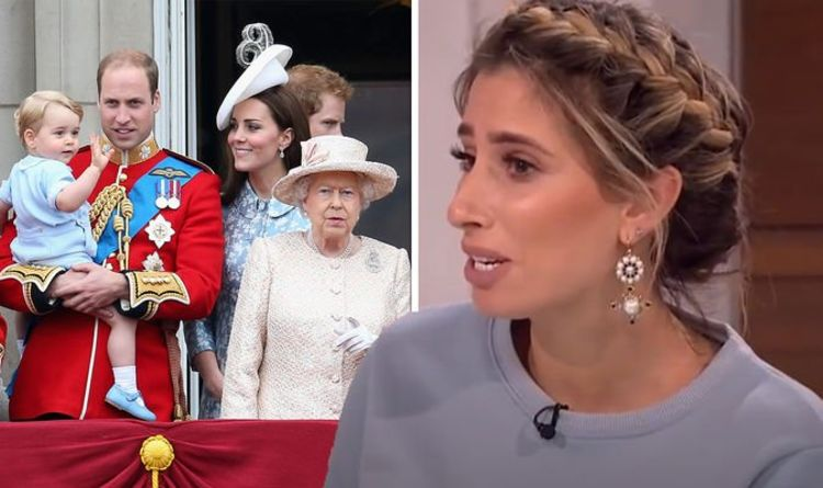 Stacey Solomon dismissing Royal Family as just 'celebrities' in old clip leaves fans split