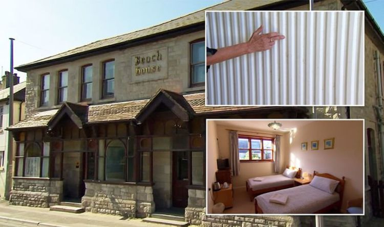 Four in a Bed: 'Rustic' Dorset seaside B&B slammed for 'vomit' stains and 'dirty duvets'