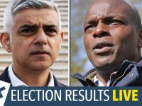 London mayor election LIVE: Latest results and scoreboard for Sadiq Khan and Shaun Bailey