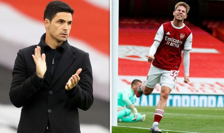 Arsenal boss Mikel Arteta sets Emile Smith Rowe challenge after West Brom win