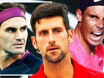 Novak Djokovic aims Rafael Nadal warning as sights set on matching Roger Federer this year