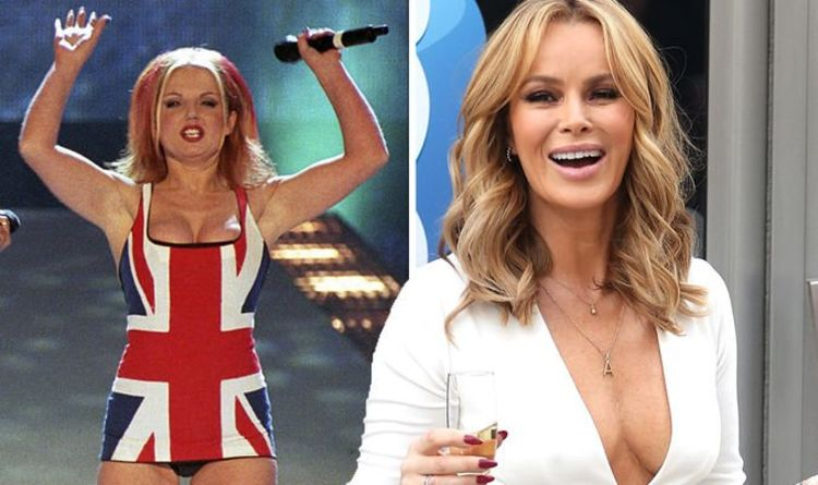 Amanda Holden, 50, wows in Spice Girls style TINY Union Jack dress ahead of Eurovision