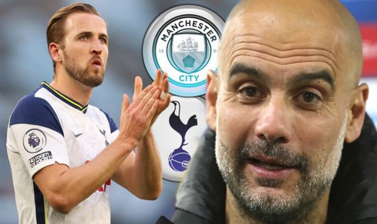 Pep Guardiola provides clear hint Man City will try to sign £150m Tottenham ace Harry Kane