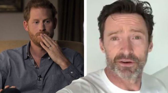 'Inspiring' Prince Harry praised by Hugh Jackman for 'life changing' series with Oprah