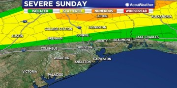 Rain chances increase