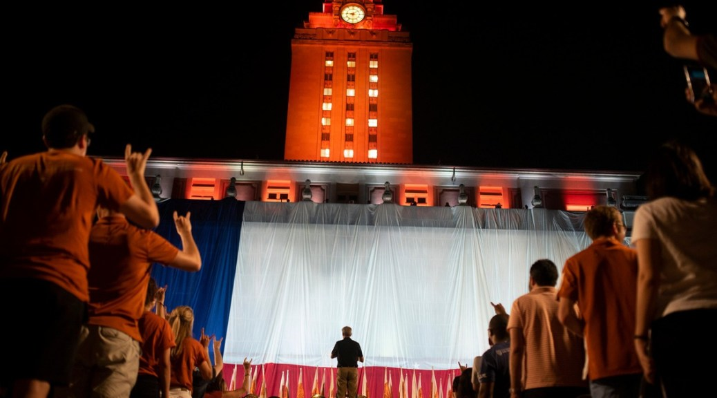 Tensions boil at UT-Austin where students are refusing to work