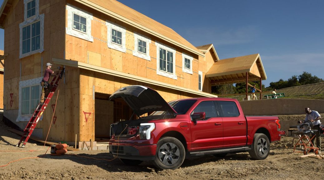The Ford F-150 Lightning Is the Electric Vehicle of Dystopia