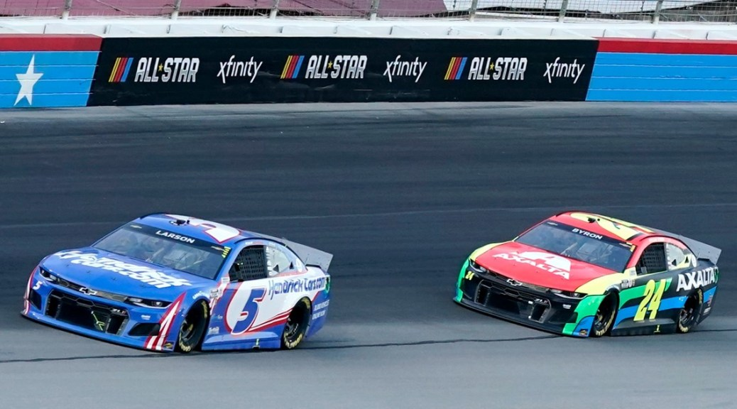 Kyle Larson wins 2nd NASCAR All-Star race, this time in Texas