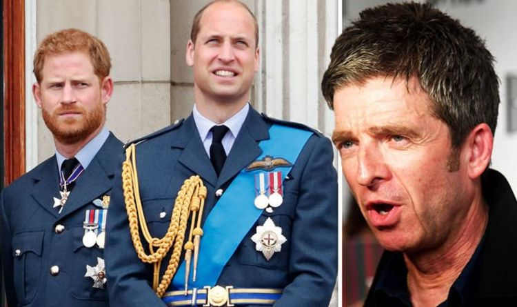 Noel Gallagher blasts 'snowflake' Prince Harry for talking 's***' about Royal Family