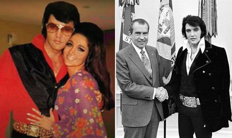 Elvis Presley's ex-lover claims The King was in Washington DC to see her not Nixon – WATCH