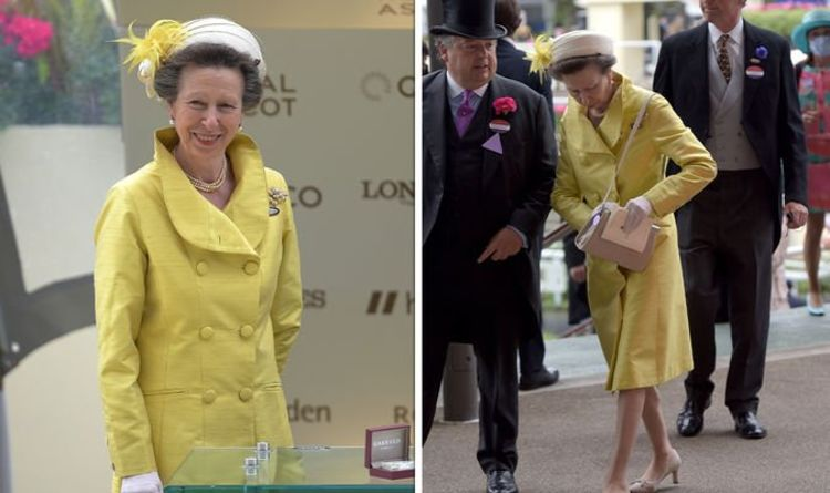 Princess Anne puts on a cheerful face in bright coat after heartbreaking divorce news