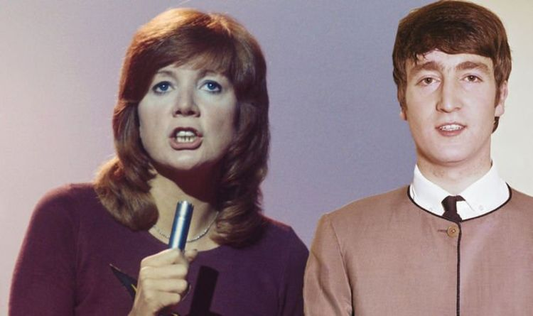Cilla Black was pulled onto stage by John Lennon to sing with The Beatles