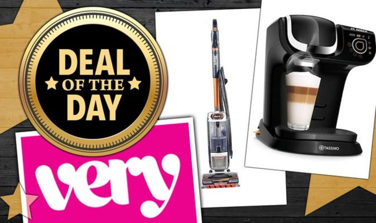 DEAL OF THE DAY: Very discounts kitchen appliances & floor care in weekend sale – £20 up