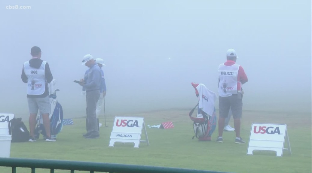Golf world descends on Torrey Pines for the 121st U.S. Open Championship