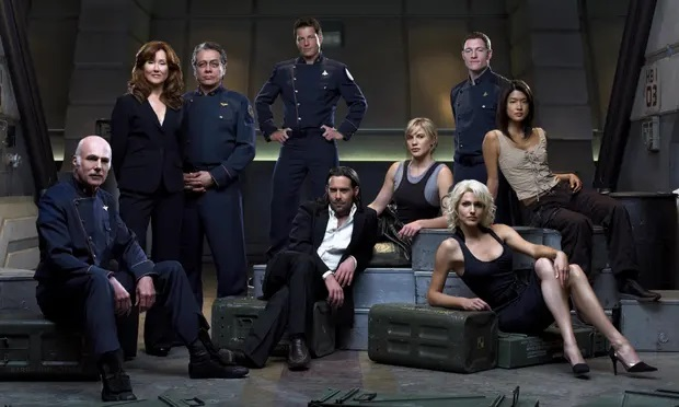 The finest of all space operas is Battlestar Galactica