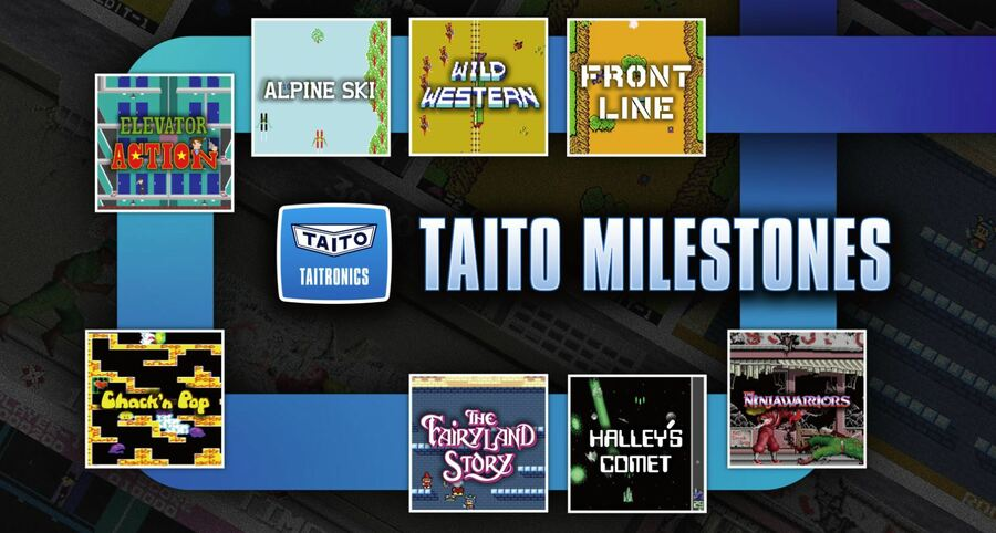 Taito Milestones Is A Collection Of Arcade Archives Titles Heading To Switch