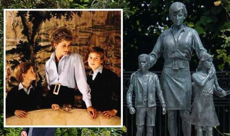 Princess Diana pictured in outfit that 'inspired statue' ‒ royal fans convinced