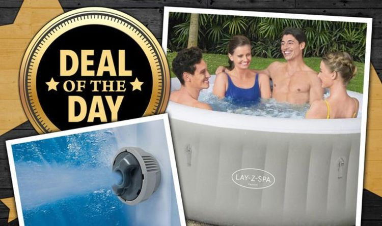 DEAL OF THE DAY: Lay-Z-Spa Inflatable Hot Tub discounted by over 40 percent off